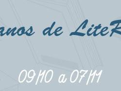 Sorteio de 4 anos do LiteRata: 15 livros, 3 ganhadores