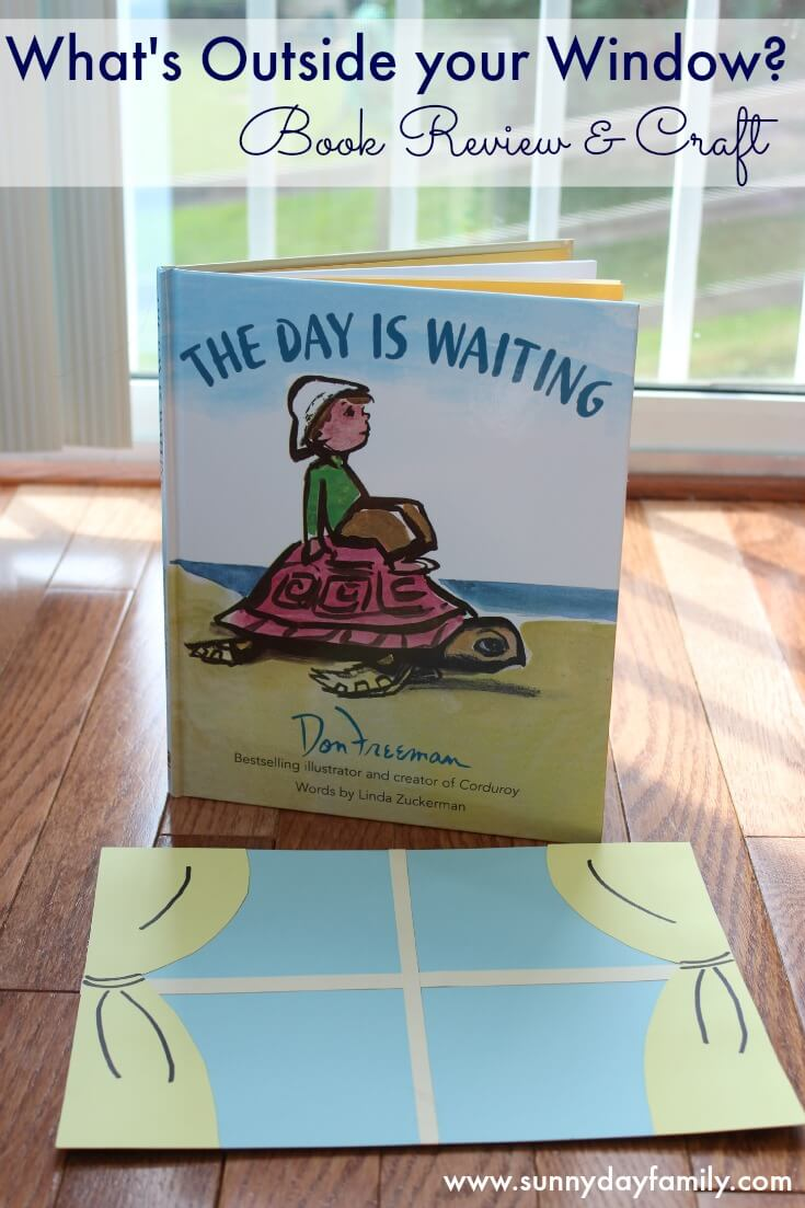 A review of The Day is Waiting by Don Freeman & a fun window craft for kids!