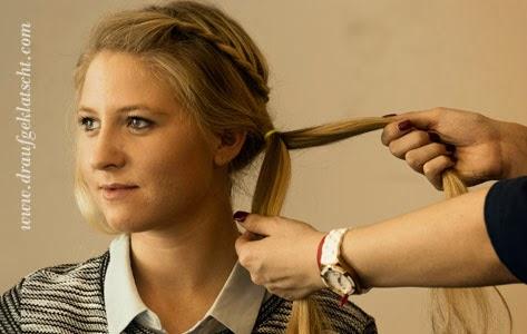 Frisuren Tutorial Draufgeklatscht