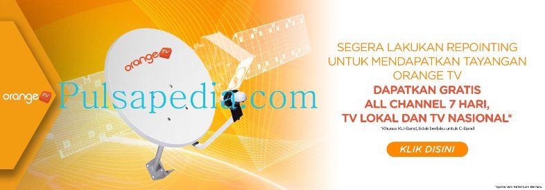 Panduan Lengkap Cara Repointing Orange TV
