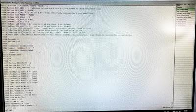 OH2DD Oshonsoft Basic kääntäjä ohjelmointi-ikkuna