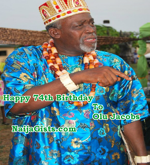 olu jacobs 74th birthday