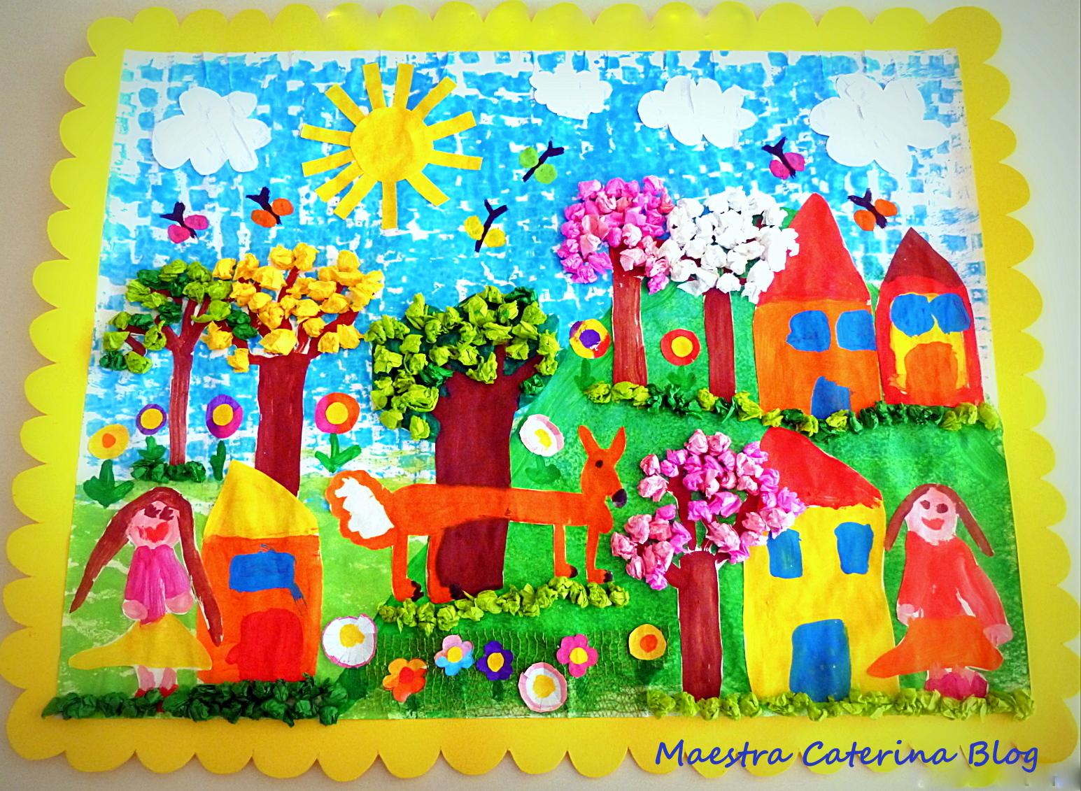 Maestra Caterina Paesaggio Di Primavera