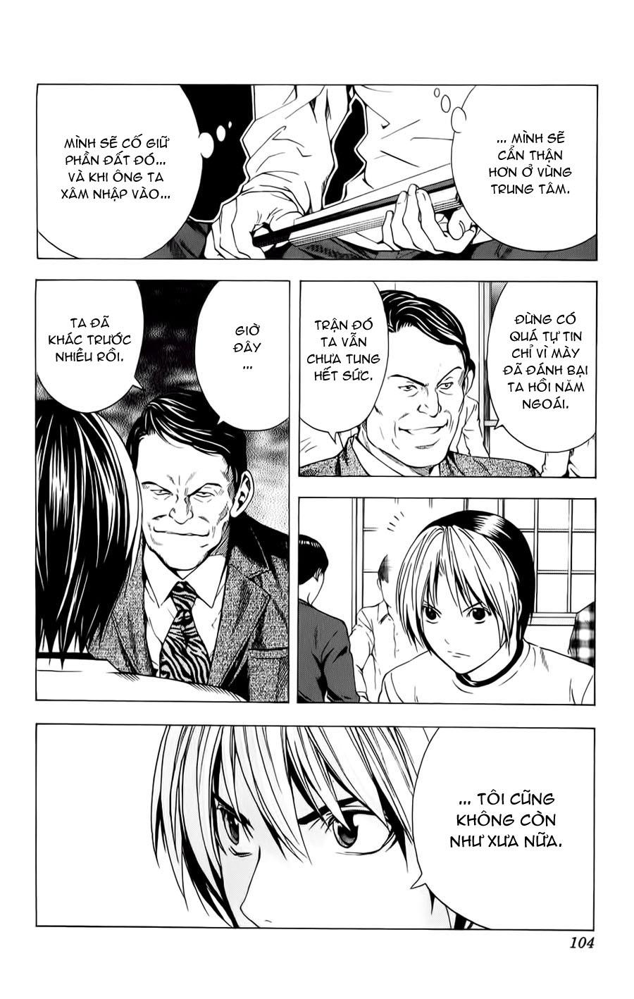 Hikaru No Go hikaru no go chap 152 trang 22