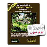 Frugal GM Review: The Cursed Fountain