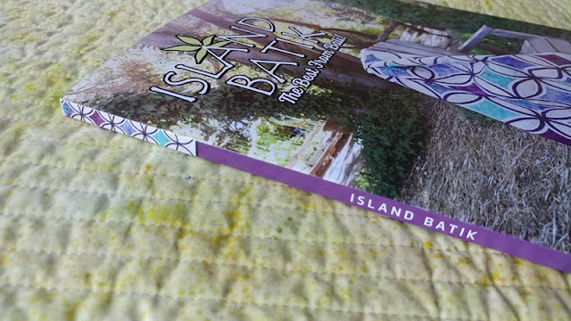 Moonrise quilt on the cover of the spring 2018 Island Batik catalog
