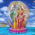 Lord Vishnu and Maa Laxmi