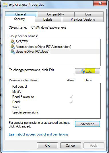 How to replace Explorer exe in Windows 7? ~ Computer Solutions