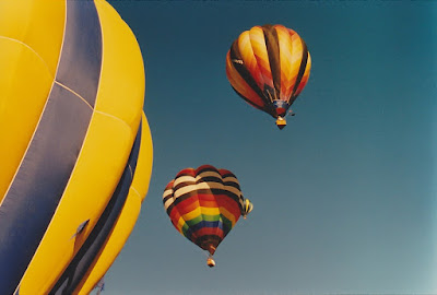 Hot Air Balloon Festival in Albuquerque New Mexico