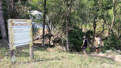 acesso Cachoeira do Machado I