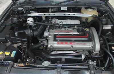 Foto Mesin Mitsubishi Eterna DOHC GTi