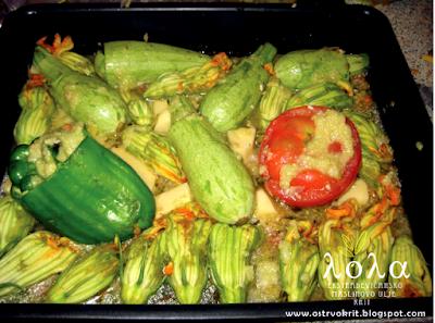 Tradicionalna grcka kuhinja, Gemista