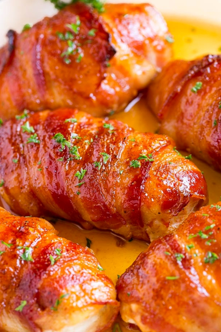 Easy Bacon Wrapped Chicken Recipe