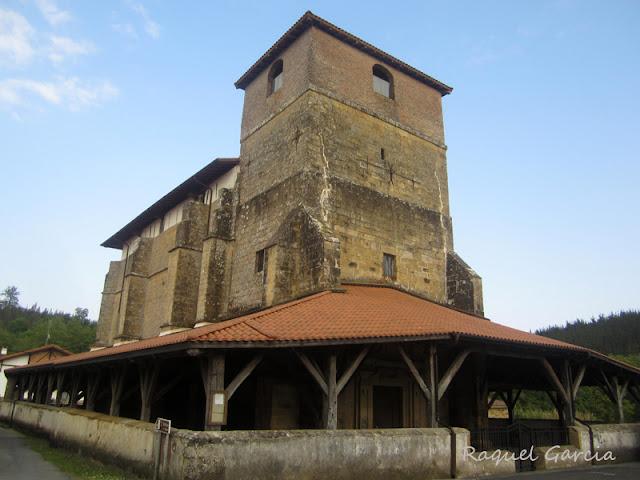 Iglesia de San Emeterio y San Celedonio. Goikolexea. Larrabetzu (Bizkaia)