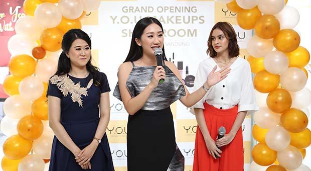 Y.O.U Makeups Resmi Buka Offline Store di Istana BEC Bandung