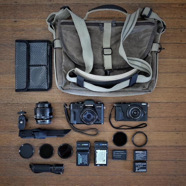 Fujifilm X-T20 X70 Travel Domke