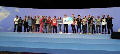 Tim 22 menyabet juara 1 credit to bairuindra.com