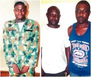 GOBE: Man Steals Army Uniform In Barracks