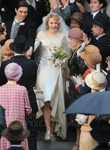 A incrivel história de Adeline, vestido de noiva anos 30