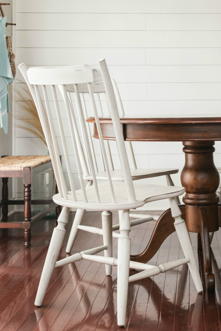 white kitchen chairs