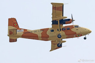 Malian Air Force Y-12 Harbin aircraft