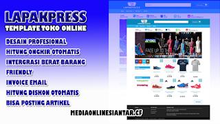 Template LapakPress (Toko Online Blogger) Premium