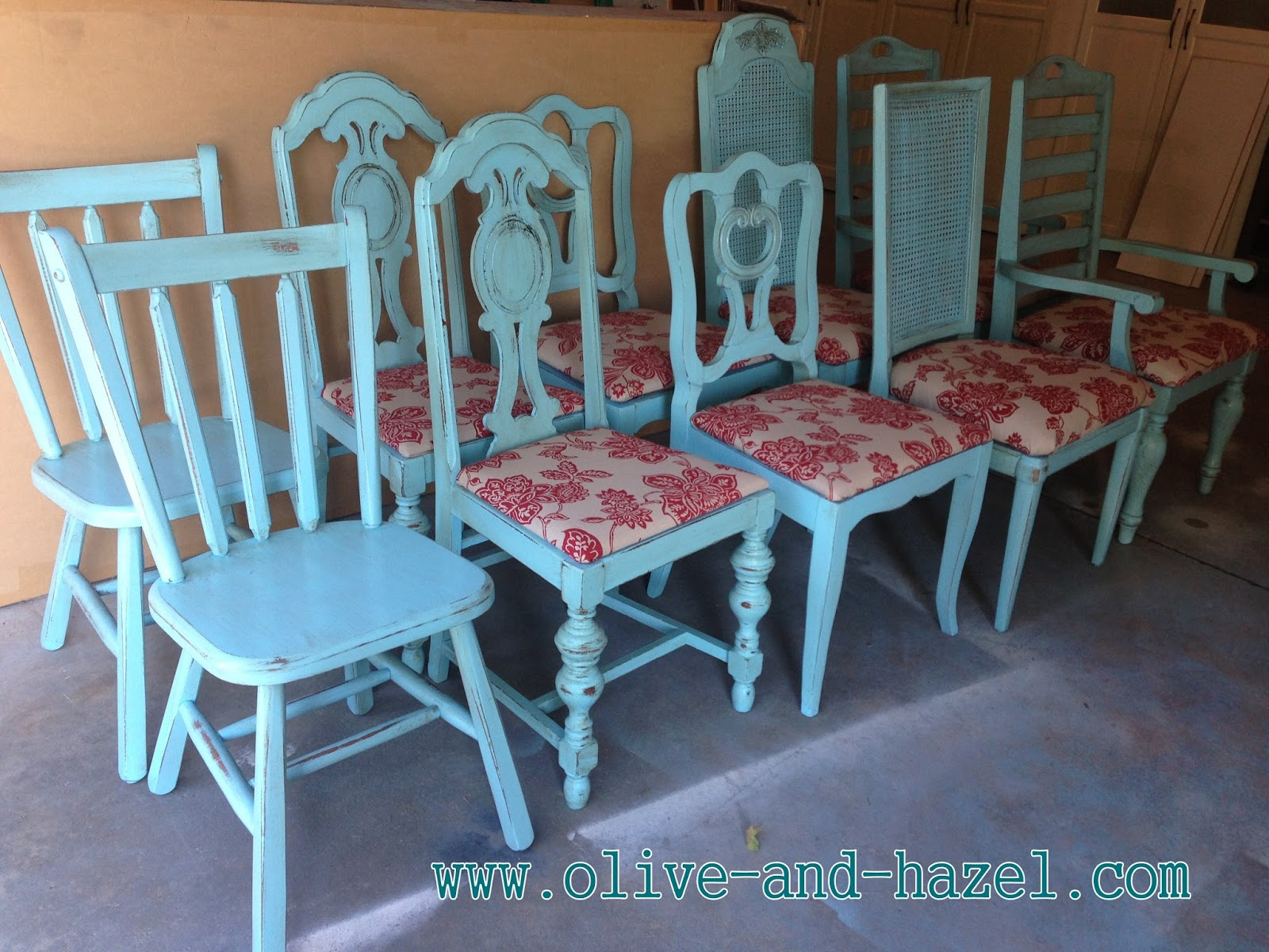 Mismatched Dining Chairs Used Lycra Chair Covers For Sale Olive 43 Hazel Decor Co Custom Teal