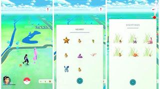 Menggunakan Tool Baru Sightings Di Pokemon Go