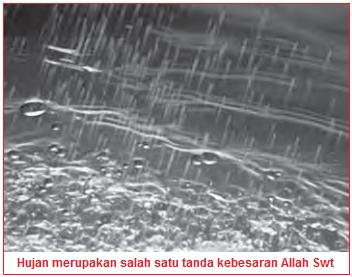 Turunnya air hujan