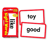 Sight Word Flashcards Set A