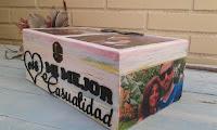 caja de madera decorada a su gusto