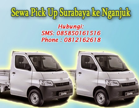 Sewa Pick Up Surabaya ke Nganjuk