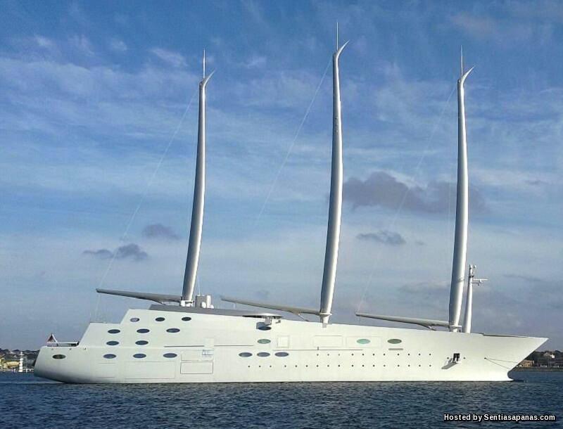 10 Kapal Layar Mewah Paling Mahal Di Dunia