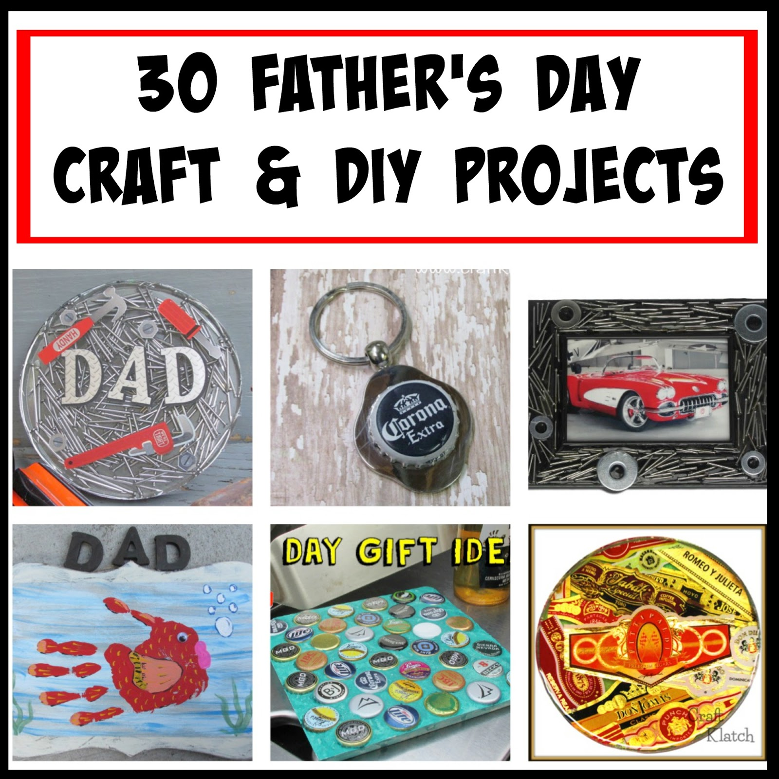 Craft klatch 30 father 39 s day crafts and diy projects for Diy gift projects