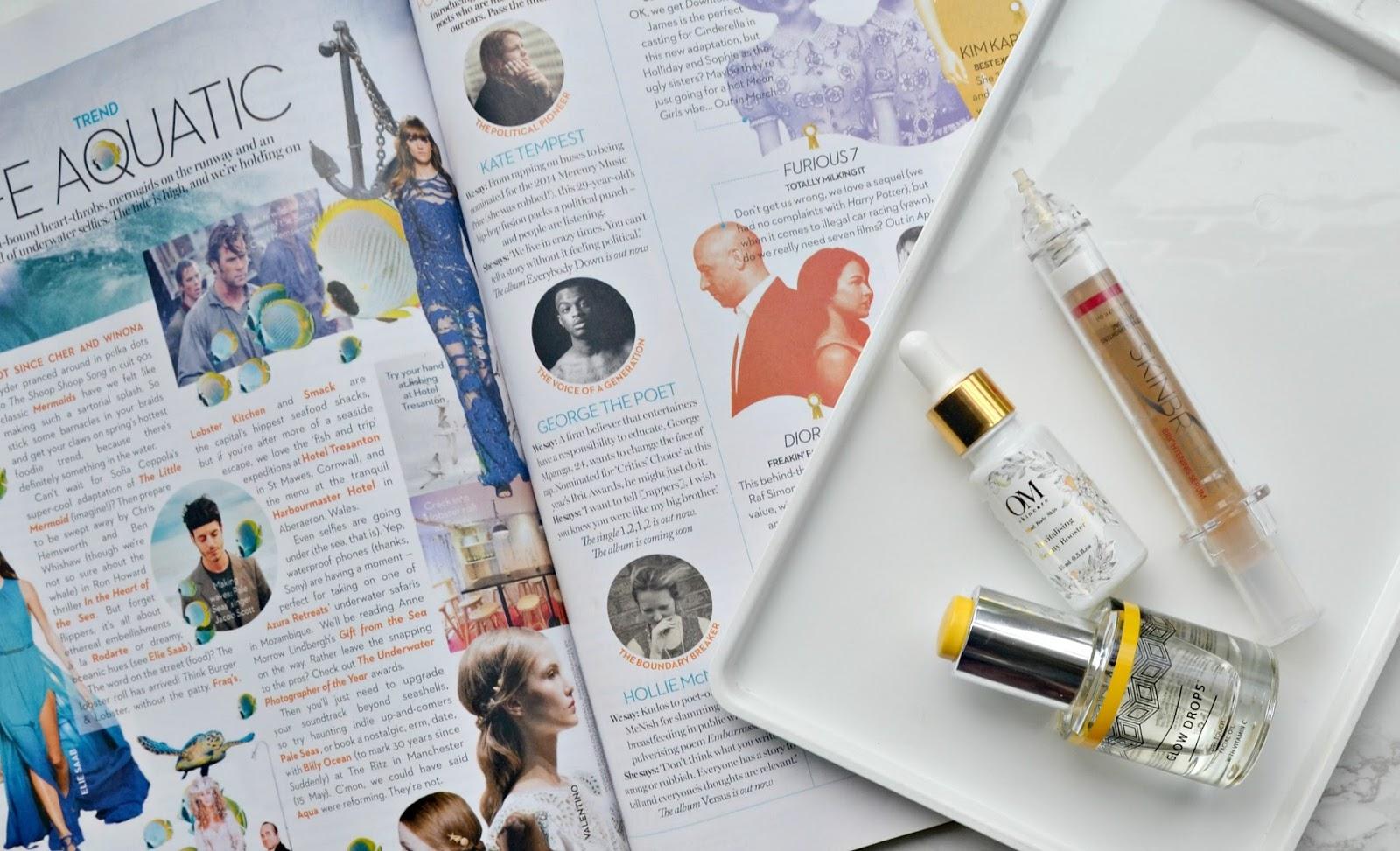 beautiful glowing skin dewy skin skincare products