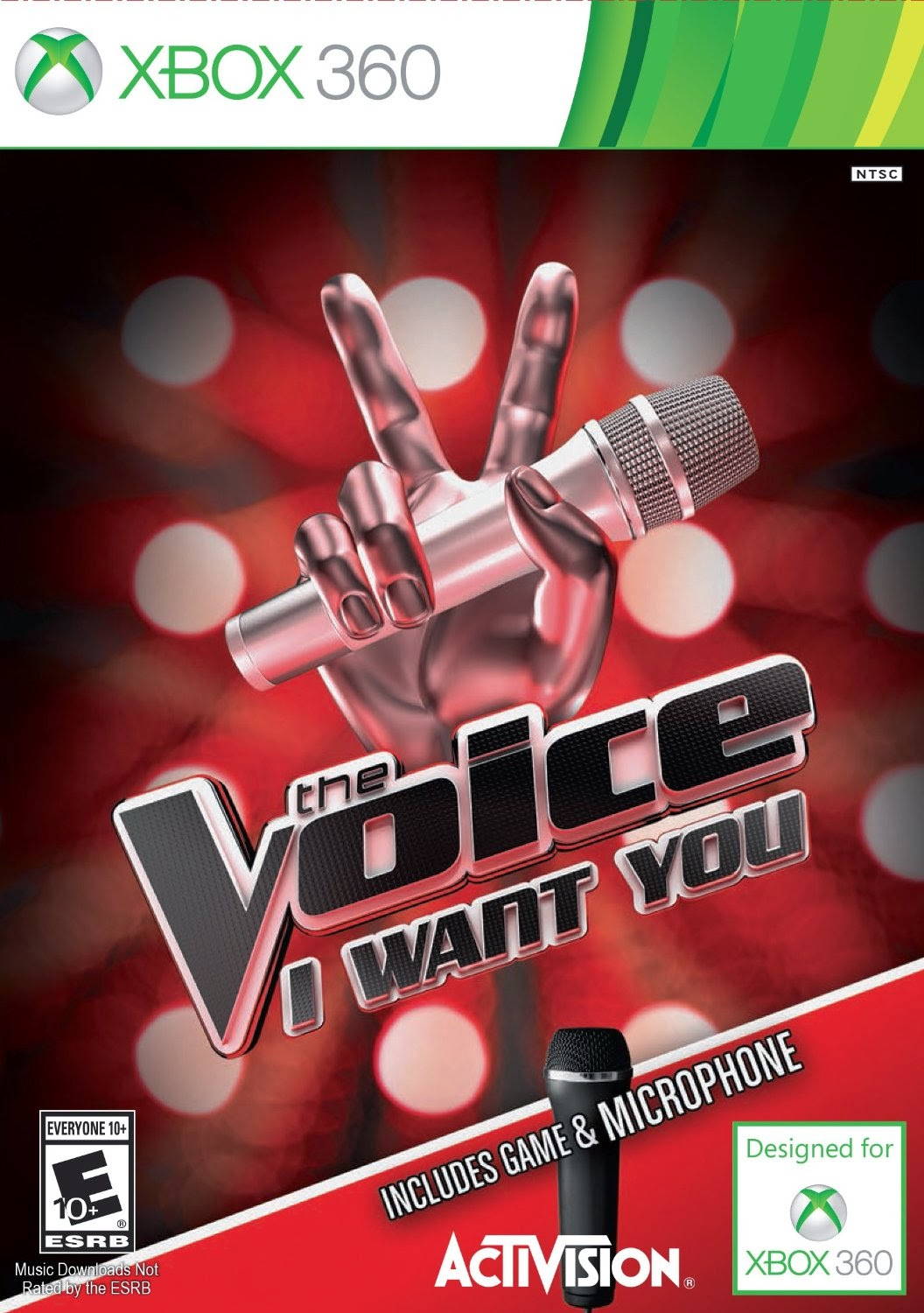The Voice XBOX 360 Cover Caratula