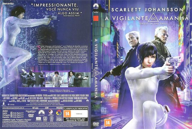 Capa DVD A Vigilante do Amanhã (Oicial *)