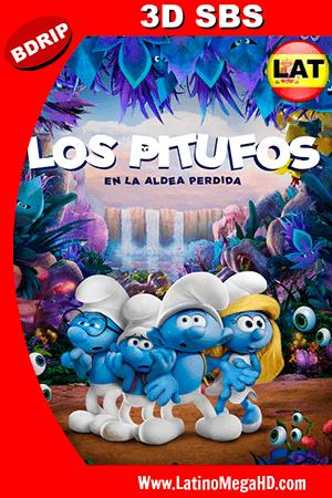 Los Pitufos En la Aldea Perdida (2017) Latino Full 3D SBS 1080P ()