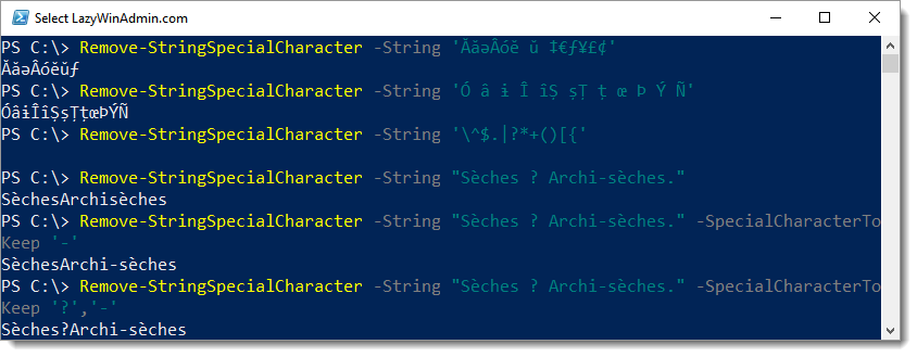 write a note on string handling in c