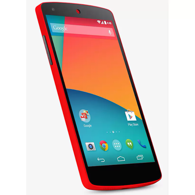 Google Nexus 5 available in red on Google Play