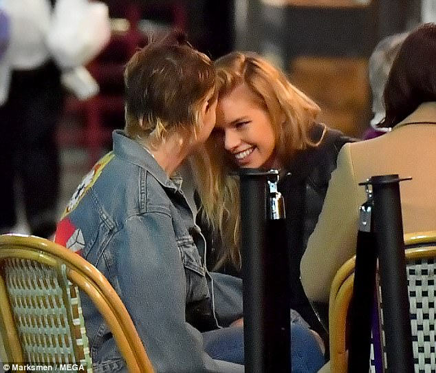 Kristen Stewart and Stella Maxwell pack on PDA and kiss