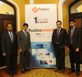 Positive Bioscience launches Positive Select, RNA sequencing test for Cancer treatment'