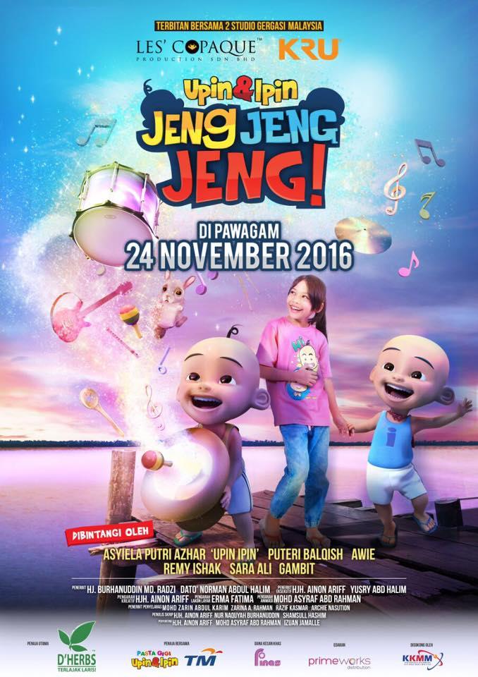 Upin & Ipin Jeng Jeng Jeng