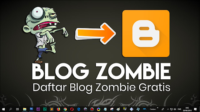 Share domain Blog Zombie GRATIS di tahun 2019