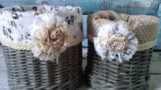 плетение из бумажной лозы, бохо