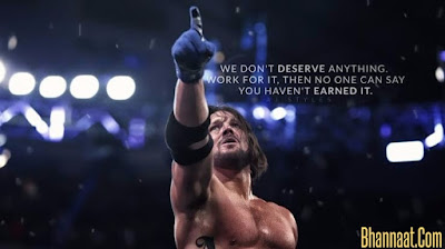 WWE Quotes by WWE Wrestlers In Hindi