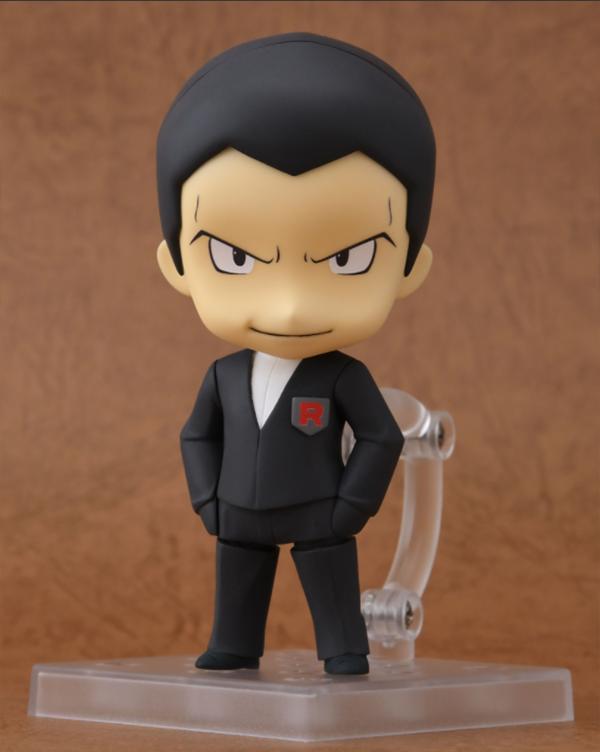Giovanni de Pokémon tendrá su propia figura Nendoroid