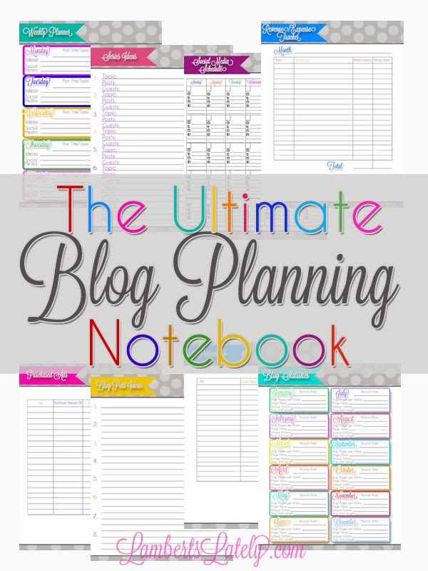 Ultimate Blog Planner