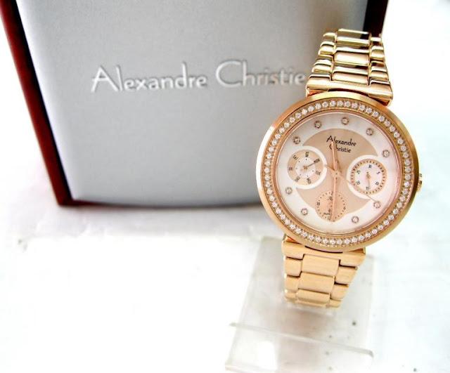 Jam Tangan Alexander Christie Classic Cewek