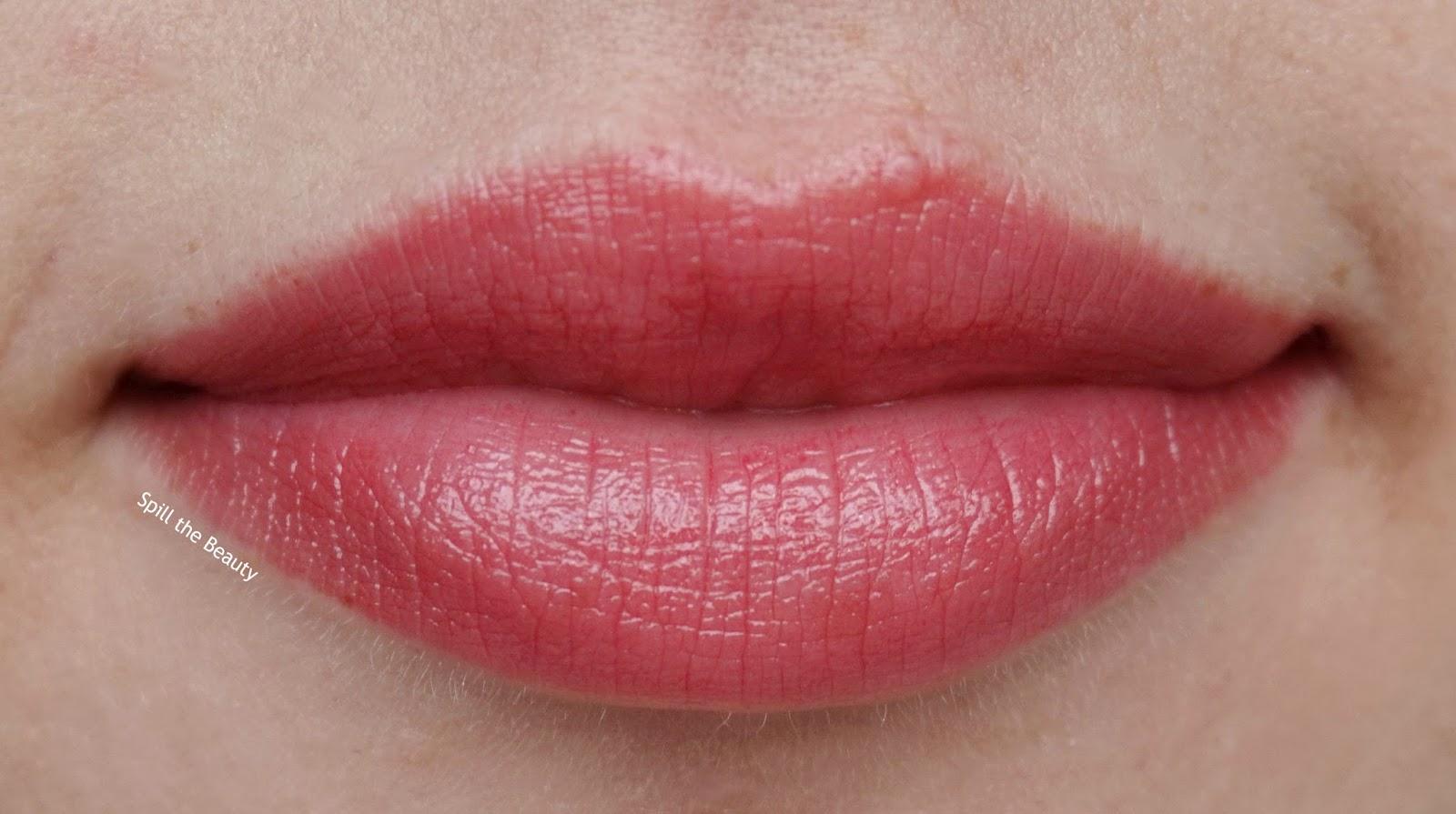 lip swatch - dior lip addict lipstick too much 951